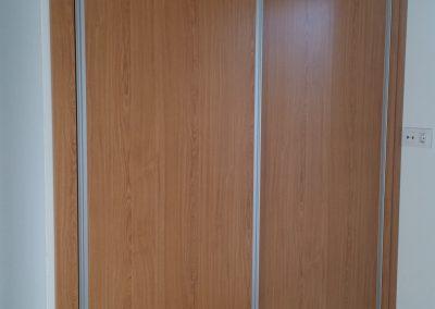 Armario empotrado cerrado