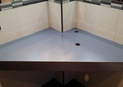 Interior mueble para lavamanos