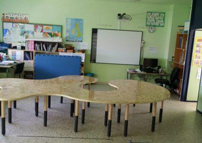 Mesa escolar completa