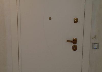 Puerta interior lacada en blanco